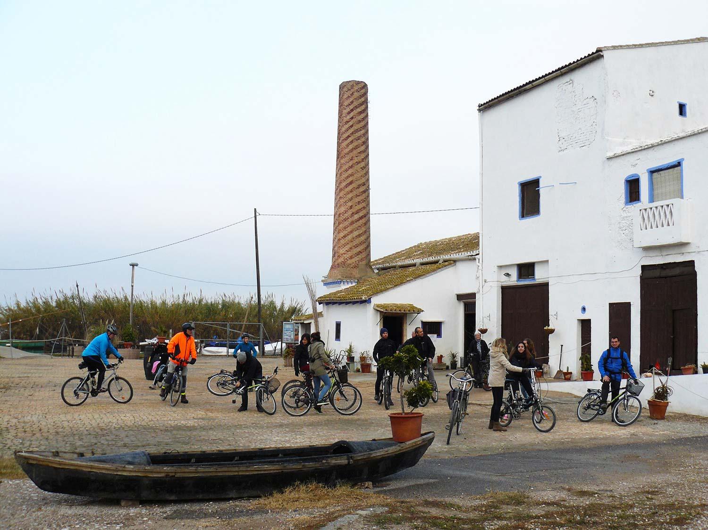 Albufera en bici Trilladora