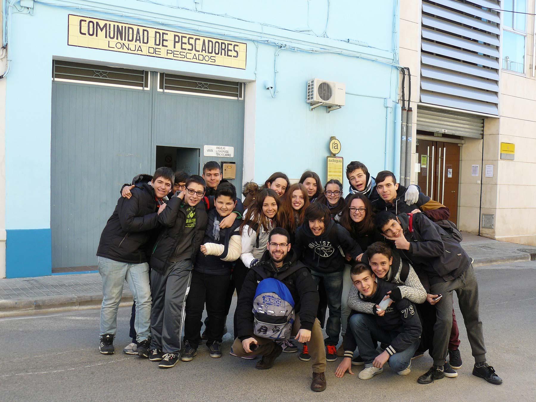 Estudiants Albufera Llotja Palmar