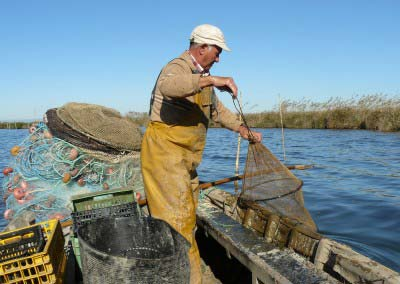 La pesca tradicional en L'Albufera