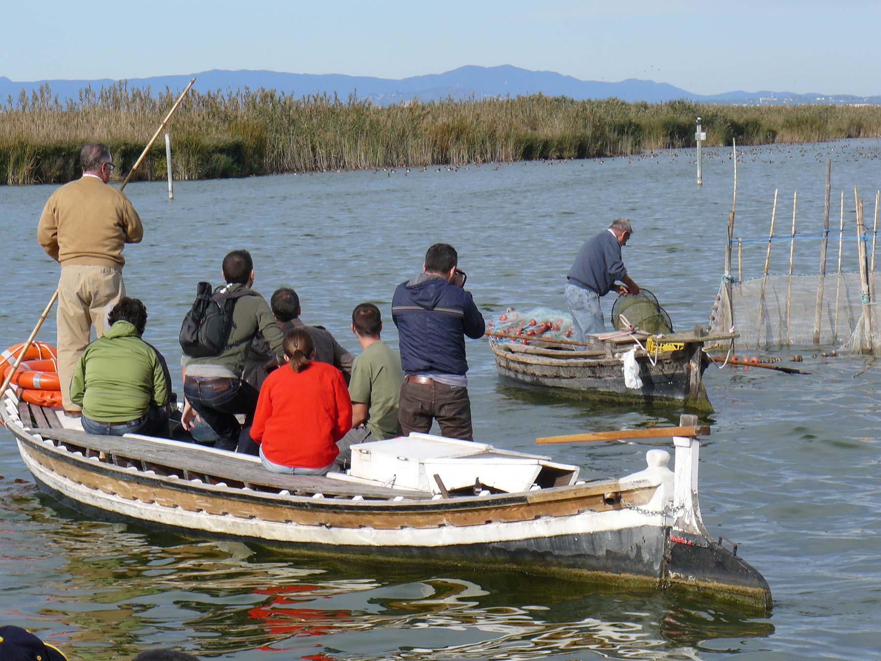 Pesca Albufera Visita Boro