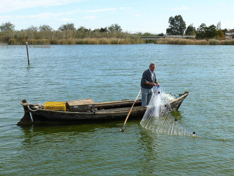 pesca tradicional albufera